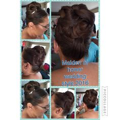 Maiden of Honor hairstyle