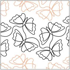 Butterfly Bliss - Petite - Quilting Pantograph | Quilt Pantographs ... : free quilting pantographs - Adamdwight.com