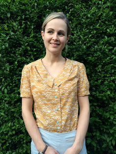Completed – Mimi Blouse from Love At First Stitch | Guthrie & Ghani