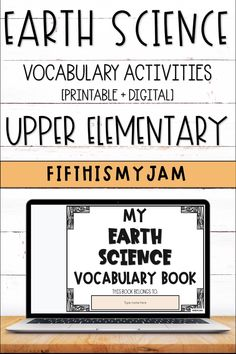 Vocabulary Activities, Science Resources, Science Lessons, Learning Resources, Classroom Resources, Learning Tools, Teacher Resources, Teaching Ideas, Elementary Science