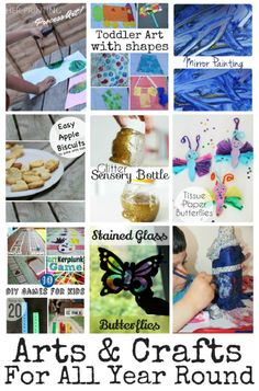 10 Arts & Crafts for All Year Round