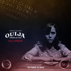 LA @blumhouse  @flanaganfilm and @universalpictures Presents : #ouijamovie #originofevil   Are you waiting for this game ? Yes or No ?  Poster by : Handy Kara