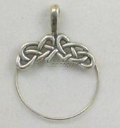 Sterling-Silver-Celtic-Weave-Charm-Holder-New
