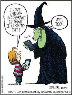 witchy humor