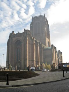 Anglican Cathedral is Britains largest Cathedral, designed bt Giles Gilbert Scott / George Frederick Bodley and Frederick Thomas, the foundation stone was laid in 1904 and took 74 years to complete. Liverpool Cathedral, Liverpool Town, Liverpool England, Liverpool History, Anglican Cathedral, Cathedral Church, Salford, Dream City, London Life