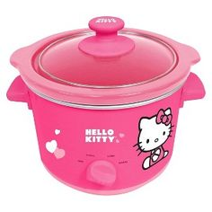 Hello kitty slow coocker. Must have.