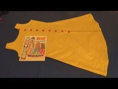 Easy Boat Neck Kurti (Front Slit) in Hindi Kurti Patterns, Baby Dress Patterns, Designer Blouse Patterns, Front Cut Kurti, Side Slit Kurti, Dress Neck Designs, Kurti Neck Designs, Blouse Designs, Boat Neck Kurti