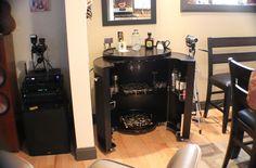 Old beautiful bar. Liquor Cabinet, My House, Copper, Kitchen Appliances, Flooring, Wine, Bar, Storage, Furniture