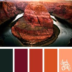 Beautiful red rock colors // 25 color palettes inspired by the PANTONE color trend predictions for Spring/Summer 2019 – … – color of life Pantone Colour Palettes, Color Schemes Colour Palettes, Red Colour Palette, Pantone Color, Color Trends, Color Combinations, Color Palette Generator, Creative Colour, Winter Colors