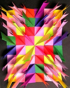 Bas Relief Paper Sculpture