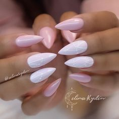 #weddings #weddingnails #nailart #naildesigns #bridalnails #pink