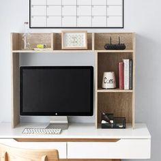 "Latitude Run Nordland 85.9"" H x 41.8"" W Over Bed Shelving Unit   Wayfair Desktop Bookshelf, Bookshelf Desk, Bookshelves, College Dorm Desk, College Board, Dorm Room Designs, Dorm Room Organization, Aesthetic Room Decor, New Room"