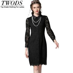 S- 5xl Elegant Slim Cut Lace Sheath Dress Pearl Necklace Embellished Long Sleeve Midi Vestidos Great, huh? http://www.artifashion.net/product/s-5xl-elegant-slim-cut-lace-sheath-dress-pearl-necklace-embellished-long-sleeve-midi-vestidos/ #shop #beauty #Woman's fashion #Products