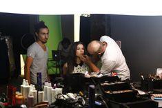 Açelya Özcan backstage