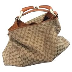 GUCCI-hand-bag-Brown