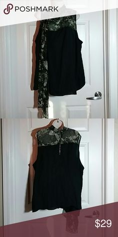 Top Polyester Sixth and Lane ( Lane Bryant ) Tops