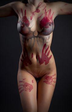 SEXY BODY PAINT — kaaona999:   Hand Painted