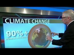 """CNN reports on climate change. """"Scientists are 95% sure humans are causing climate change"""""""