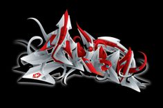 2003 t-shirt design for Tribal gear. 3D Tribal by Misk1