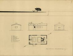 Kumeli oli toinen Aallon ehdotuksista Aitan arkkitehtuurikilpailuun.