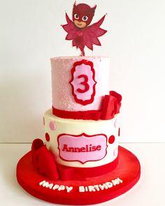 Owlette cake