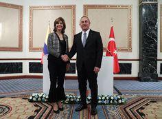 """وزيرة خارجية """"كولومبيا"""" : تعرفنا على """"تركيا"""" عبر مسلسلاتها - أرقام تركيا"""
