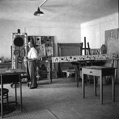 Joan Miró - foto de Joaquim Gomis 1942