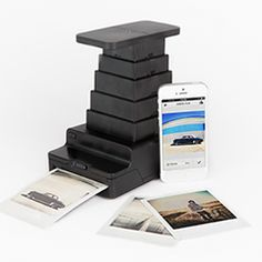 The Impossible Instant Photo Lab. Turn your iPhone into a Polaroid camera