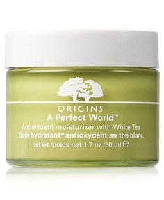 Origins A Perfect World Antioxidant moisturizer with White Tea 1.7 oz. - Origins Skincare - Beauty - Macy's $41