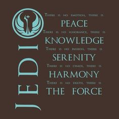 Image result for the jedi code