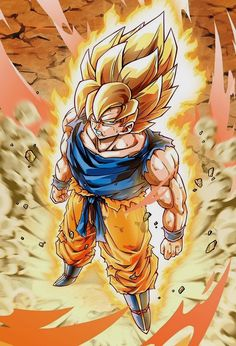 Super Saiyan 3 Goku Full Power Dragon Ball Z Episode Goku Pics, Goku Wallpaper, Manga Dragon, Fan Art, Cartoon, Illustration, Anime Halloween, Halloween Makeup, Assassin Names