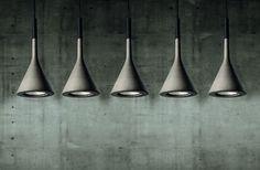 Foscarini Aplomb suspension light designed by Paolo Lucidi and Luca Pevere.