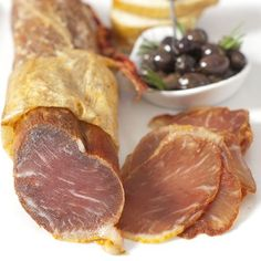 Product Size: 1 piece - 1.3 lb From Spain, by Dehesa Click the Gourmet Food World name above to see all of our products. We sell: Cured Acorn Fed Iberico Pork Loin (Lomo Iberico de Bellota) - 1 piece - 1.3 lb