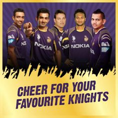 Cheer for your favourite #Knights & they will get back to you with a personalized video addressed to you.  Don't miss out on this opportunity!  Log on to: www.kkr.in or https://www.youtube.com/user/kkrofficial/CheerForKKR  #KorboLorboJeetbo #OneTeamOnePledge #CheerForKKR
