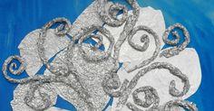 kreatywne prace plastyczne: ZIMOWE DRZEWO