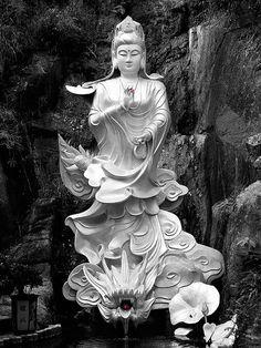 Kuan Yin - Goddess of Mercy, would make an awesome tattoo.