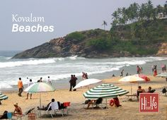Spend your holidays filled with fun at Kerala's exotic Kovalam Beaches. Kovalam, Kerala Tourism, Hill Station, Beach Holiday, Sandy Beaches, Beach Mat, Exotic, Outdoor Blanket, Tropical