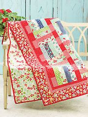 Jelly Bean Dreamin' Quilt Pattern from Annie's Craft Store. Order here: https://www.anniescatalog.com/detail.html?prod_id=129407&cat_id=1644