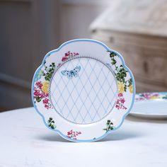 【北欧直輸入】リスベスダール プレート フローレンス Mサイズ 19cm (Lisbeth Dahl Plate Florence) [HH40076] #manonstore #LisbethDahl