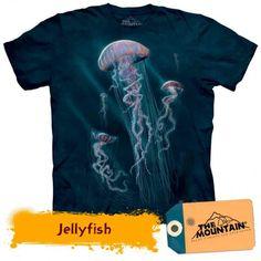 Tricouri The Mountain – Tricou Jellyfish Jellyfish, Mountain, 3d, Mens Tops, T Shirt, Medusa, Tee, Tee Shirt, Manet