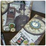Relicário e caderneta Dia dos Pais