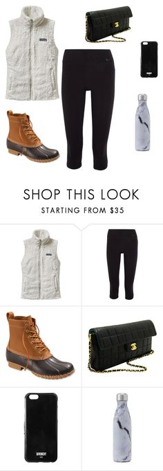 """""""Untitled #1"""" by vivianmarcus ❤ liked on Polyvore featuring Patagonia, NIKE, L.L.Bean, Chanel and Givenchy"""