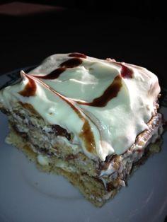 No Bake Pudding Graham Cracker Cake Recipe - Genius Kitchen