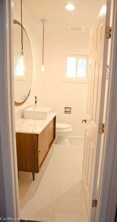 Mid-century Modern bathroom vanity-3
