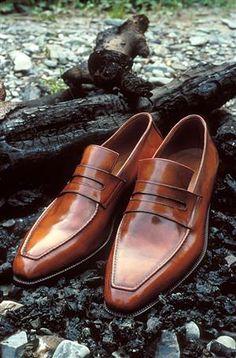 メンズローファー 革靴 ベルルッティ  Berluti shoes. The Andy.
