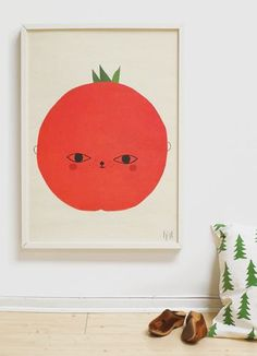 Tomato poster from Fine Little Day