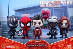 ToyzMag.com » Civil War : figurines Cosbaby par Hot Toys