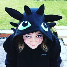My Toothless costume for World Book Day. Night fury, dragon, how to train your dragon