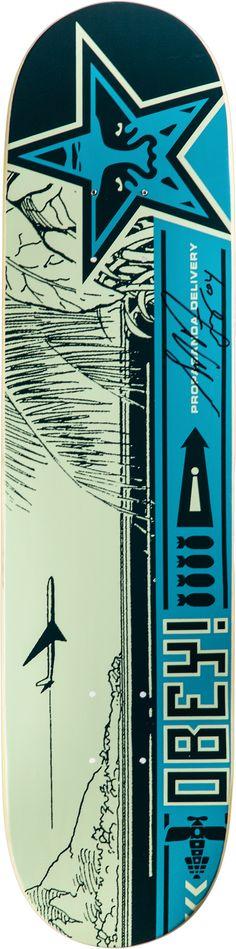 Shepard Fairey - skate deck - skateboard Best Skateboard Decks, Surfboard Skateboard, Skateboard Design, Skate 4, Skate Decks, Skate Board, Shepard Fairy, Shepard Fairey Obey, Obey Art