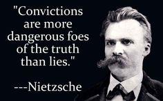 Friedrich Nietzsche on Convictions Poet Quotes, Philosophy Quotes, Words Quotes, Life Quotes, Nietzsche Philosophy, Sayings, Frederick Nietzsche Quotes, Friedrich Nietzsche, Atheism Quotes